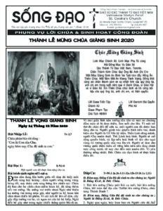 Thánh Lễ Vọng Giáng Sinh 2020